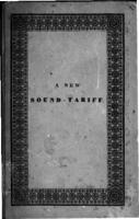 A new tariff of rates and duty on goods and merchandise, passing through the sound at Elsinore