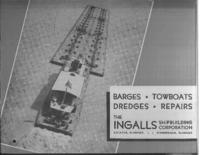 Barges, towboats, dredges, repairs