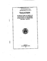 Taxation : an extract from the report of the secretary of the treasury on the state of the finances for the fiscal year 1923