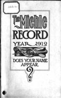 The Miehle record year, 1912