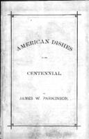 American dishes at the centennial