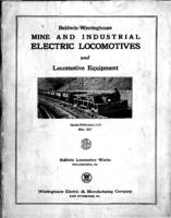 Baldwin-Westinghouse mine and industrial electric locomotives and locomotive equipment