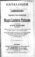 Catalogue of Langenheim's colored photographic magic lantern pictures, 1866