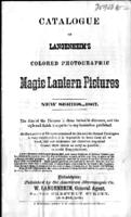 Catalogue of Langenheim's colored photographic magic lantern pictures, 1867