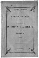 Central Committee for the United States on the Exhibition of Industry of All Nations, to be held in London, 1851