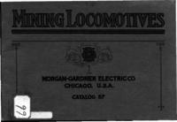 Morgan-Gardner electric mine locomotives, type C, for haulage and gathering