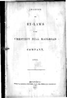 Charter and by-laws of the Chestnut Hill Railroad Company, 1851