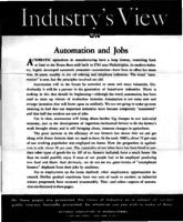 Automation and jobs