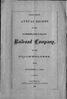 Thirty-fifth annual report of the Cumberland Valley Railroad Company