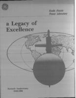 A legacy of excellence : fortieth anniversary, 1946-1986