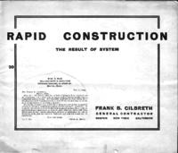 Rapid construction : the result of system