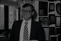 Sen. Pete Domenici with Janis Moore (November 1980)