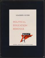 Citizen at Work, Political Education Seminar Leader's Guide (1958)