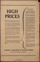 Advertisement, inflation (December 1947)