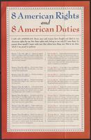 8 American Rights and 8 American Duties (1943)