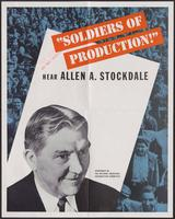 'Soldiers of Production' poster (ca. 1942)