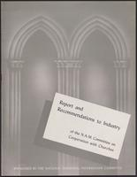 Report and Recommendations to Industry of the N.A.M. Committee on Cooperation with Churches (1943)