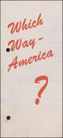 Which Way America? (1946)