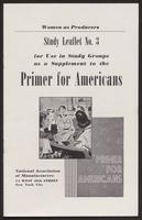 Primer for Americans: Study Leaflet No. 3 (August 1941)