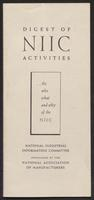 Digest of NIIC Activities (1944)