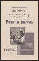 Primer for Americans: Study Leaflet No. 4 (August 1941)