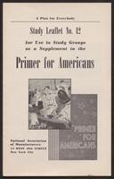 Primer for Americans: Study Leaflet No. 12(1941)