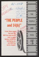 'The People and 15(b)' brochure (ca. 1965)