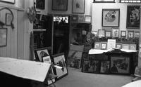 Interior of Schoonover's Wilmington studio