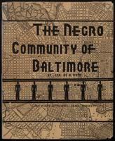 The Negro Community of Baltimore