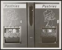 Pastries vending machine
