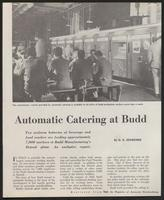 Automatic Catering at Budd