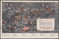 Laclede Steel Company map of downtown St. Louis