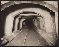 Concrete arches, Red Ash Vein, Cooper tunnel, Woodward mine