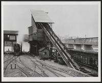 180 ton coaling station with coaling bridge