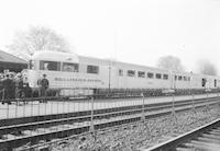 """Burlington Zephyr"" at Wilmington Train Station"