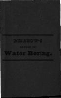 Disbrow's expose of water boring