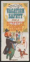 Spotlight vacation safety for a summer circus