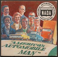 America's Automobile Man record sleeve