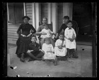 3500 Powelton Ave., family group on the porch