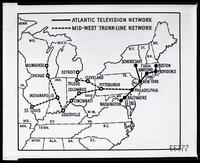 Television networks map
